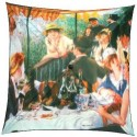 "Umbrella coverage : ""Le déjeuner des Canotiers"" by A. Renoir"