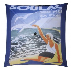 "Advertising umbrella for ""La Ville de SOULAC/MER"""