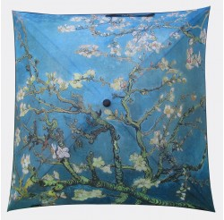"Umbrella coverage :   ""Almond branches in bloom"" by Van GOGH"