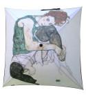 """Couverture de parapluie : """"La femme de l'artiste"""" de Egon SCHIELE"""