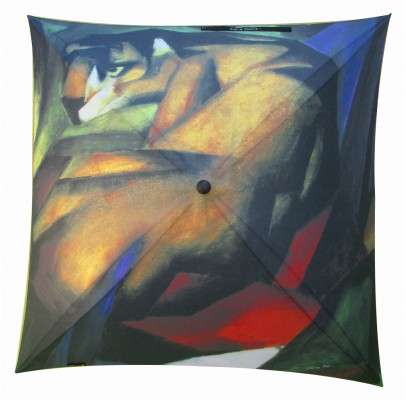 "Umbrella coverage :  ""Le tigre"" de Franz MARC"