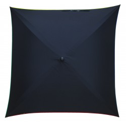 Ombrella Carré Delos solid black 4 colors
